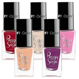 Vernis à ongles mini it-color Peggy Sage 5ml 105000