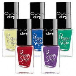 Vernis à ongles mini quick dry Peggy Sage 5ml