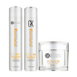 Kit entretien lissage bresilien Global Keratin