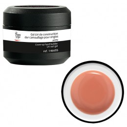 Gel de construction UV dur camouflage peche pour ongles Peggy Sage