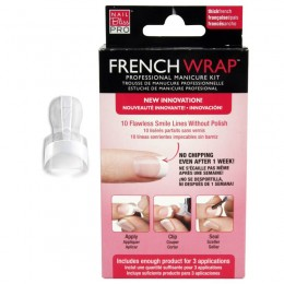 French wrap Nail Bliss