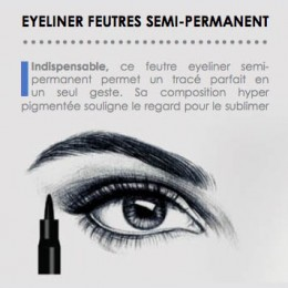 Feutre eyeliner semi permanent Supreme Make Up