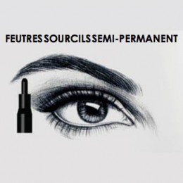 Feutre sourcils semi permanent Supreme Make Up