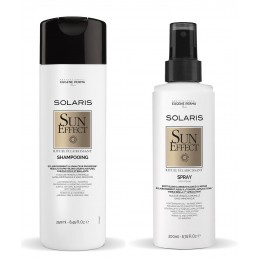 Duo shampooing et spray sun effect solaris Eugene Perma