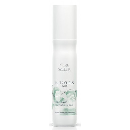 Spray nourrissant cheveux ondulés - Milky Waves Nutricurls Wella